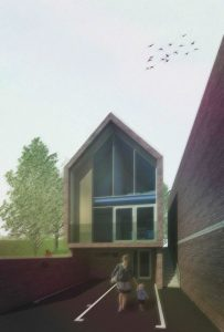 Contemporary New Build Low Energy Town Houses. – Godalming Surrey