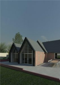 Planning Permission for a Contemporary Extension to a Victorian House