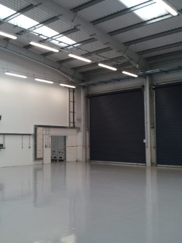 New build office, warehouse and MOT Centre