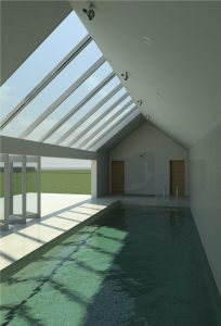 House Extension, Swimming Pool and Heated Garage
