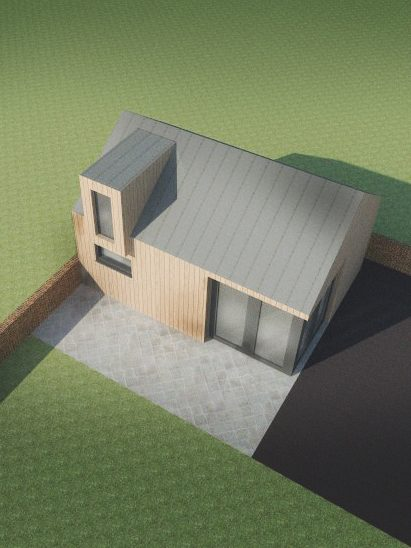 Garage Conversion into Pool House