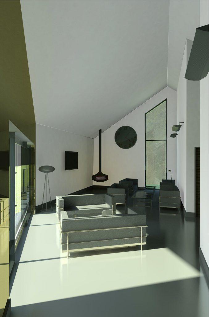 THE EYE - Youth centre Interior Design.