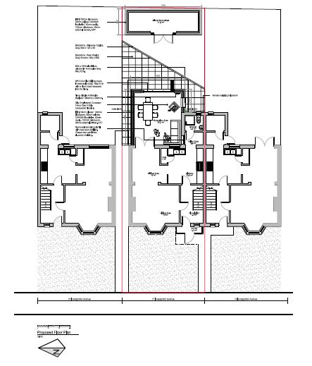 Planning Application for a Single Storey Extension